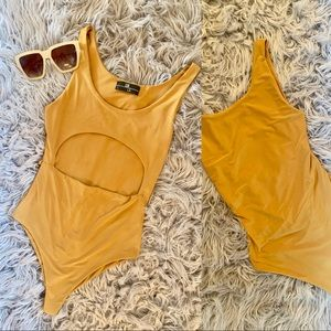 Lux/La one piece swimsuit size small
